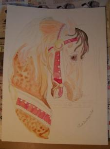 Carousel Horse Work in Progress 3